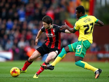 Harry Arter in action for Bournemouth