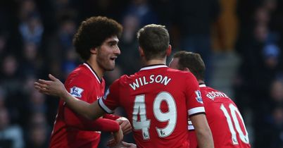 Marouane Fellaini: Scored the opener, but only after the switch from 3-5-2