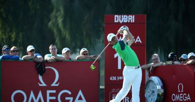 McIlroy in the mix in Dubai
