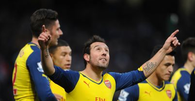Santi Cazorla: Key to Arsenal success, says Thierry Henry