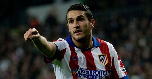 Koke: Has rubbished talk of a move to Manchester United