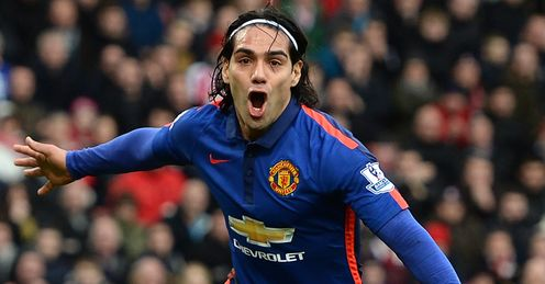 Radamel Falcao: Not staying on at Manchester United