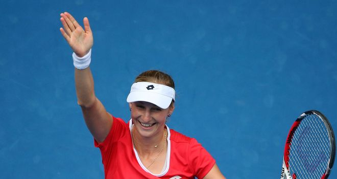 Makarova: Troubled by a calf injury