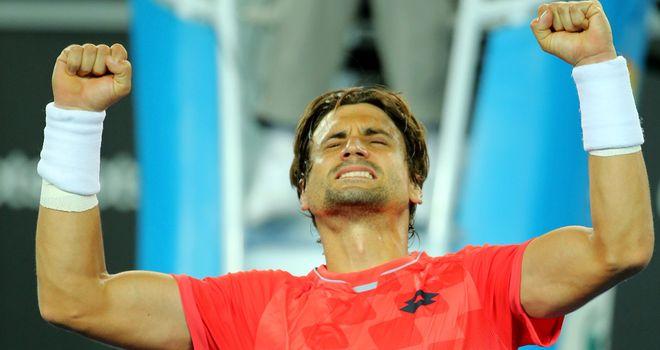 David Ferrer of Spain is an outside bet for Wimbledon