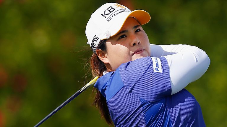 Inbee Park: holds lead in Singapore