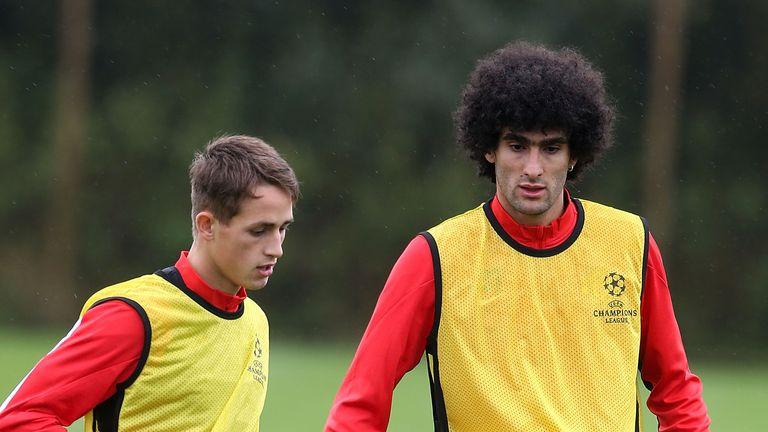 Indy Boonen joins Adnan Januzaj and Marouane Fellaini among the Belgian contingent at United