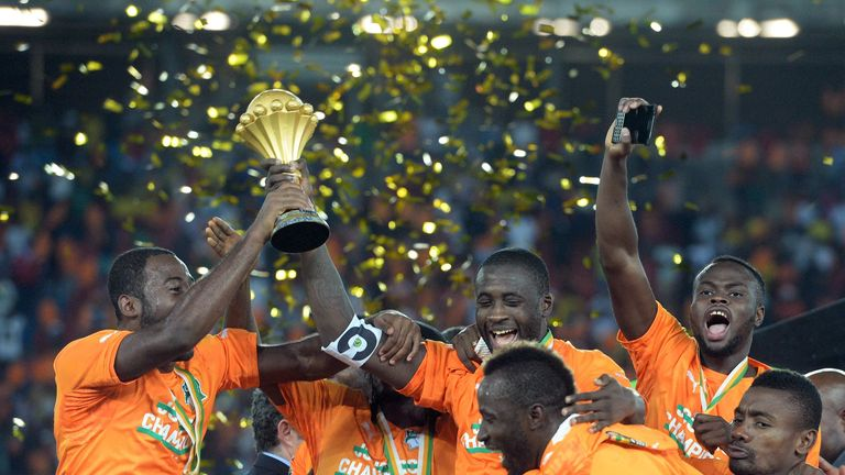 Ivory Coast won the 2015 African Cup of Nations