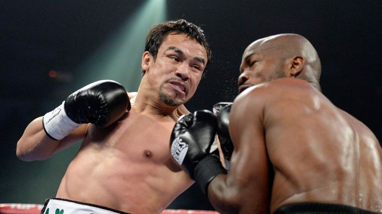 Juan Manuel Marquez: Has held titles at a number of weights