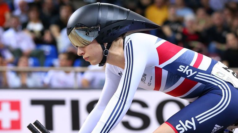 Trott took silver in the UCI Track Cycling World Championships in February