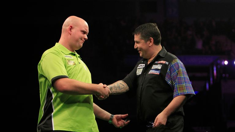 Gary Anderson is ready for his latest clash with Michael van Gerwen