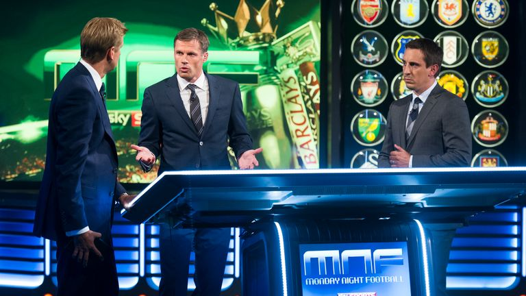 The Monday Night Football team take a manager's-eye view