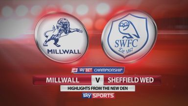 Millwall 1-3 Sheff Wed
