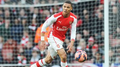 Kieran Gibbs says he is determined to make the most of his first-team opportunities at Arsenal