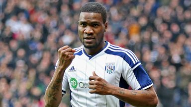 Brown Ideye: West Brom striker hoping to face QPR