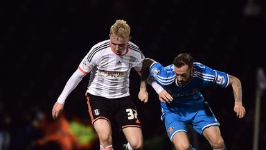 Jack Grimmer (left): Has made 14 appearances to date for Fulham