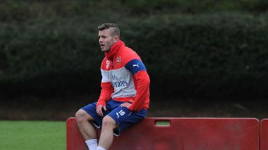 Jack Wilshere: Scored for Arsenal XI as he continues comeback from injury