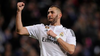 Karim Benzema: Set to miss out against Malaga with a knee injury