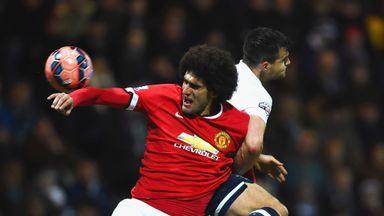 Marouane Fellaini: Scored United