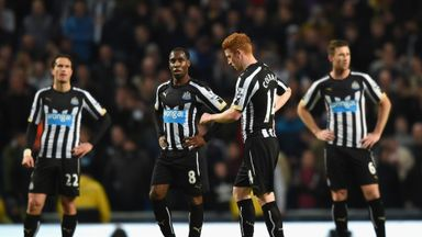 Newcastle hoping to recovered from mauling at Man City