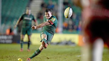 Freddie Burns: Will make his 100th Premiership appearance this weekend
