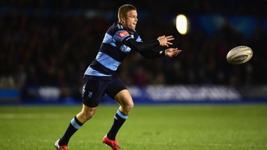 Gareth Anscombe: Returns at fly-half for the visit of Connacht