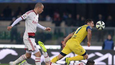Sergio Pellissier finds himself under pressure