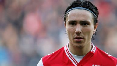 Steven Berghuis: was among the goals for AZ