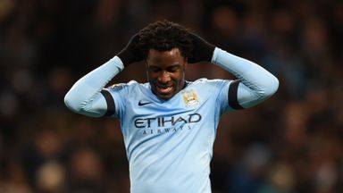 Wilfried Bony: Striker says Man City have not given up on title