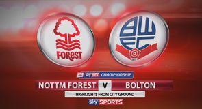 Nottingham Forest 4-1 Bolton