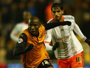 Benik Afobe: Rescued a point for Wolves
