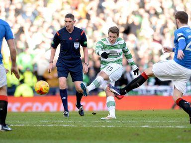Kris Commons scores Celtic's second goal