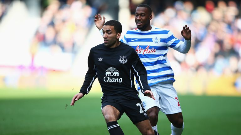 Aaron Lennon: Scored the winner for Everton at QPR