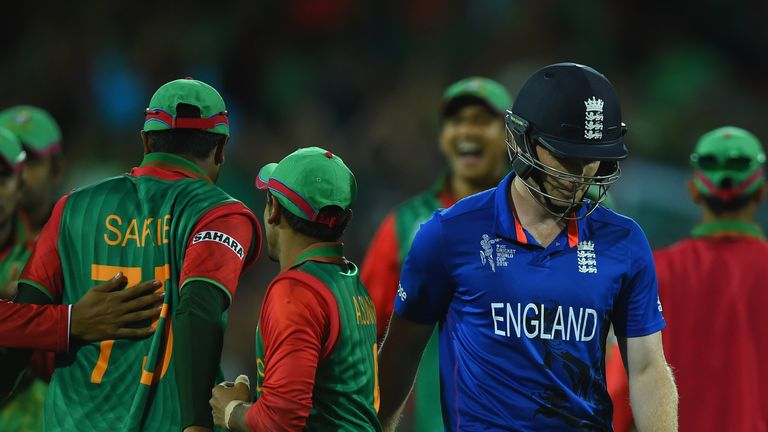 England made radical changes after a disastrous 2015 World Cup