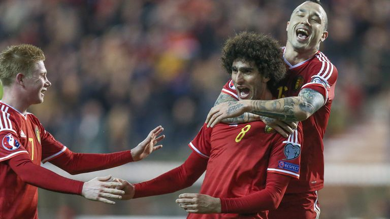 Belgium are ranked third in the current FIFA world rankings