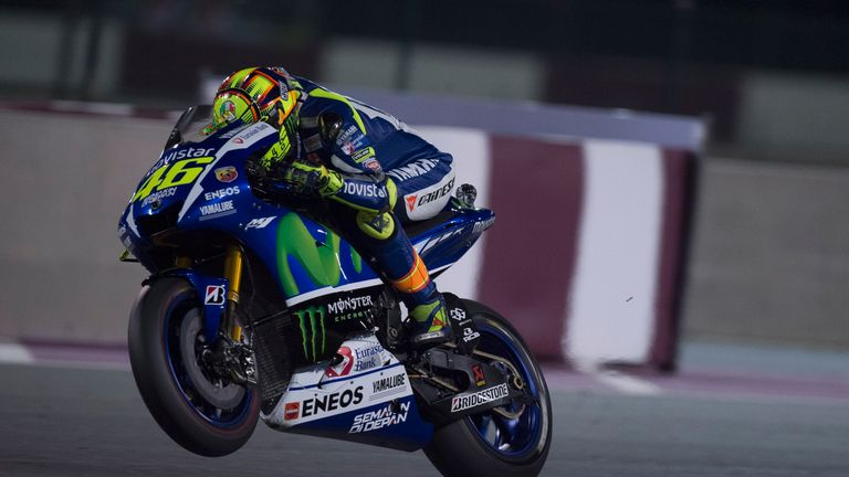 Valentino Rossi is fighting to be fit for the final races of the season