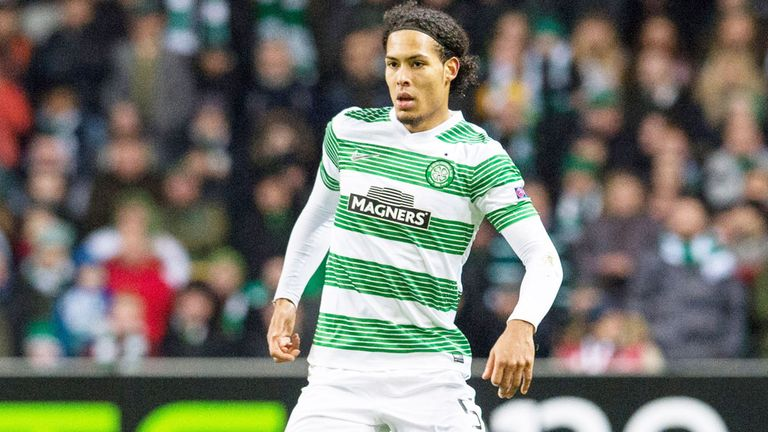 Virgil van Dijk: Celtic defender scored a fine second goal
