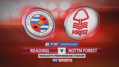 Reading 0-3 Nottingham Forest