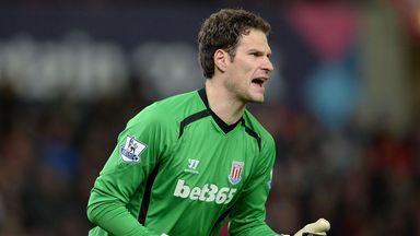 Asmir Begovic: A key player, says Mark Hughes