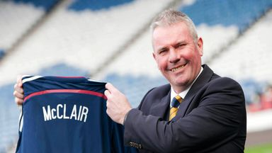 Brian McClair: New Scotland performance director