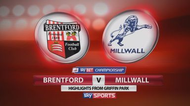 Brentford 2-2 Millwall