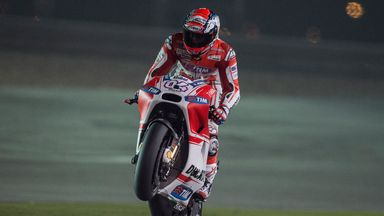 Andrea Dovizioso: Fastest in qualifying in Qatar