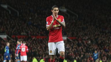 Angel Di Maria is set to leave Manchester United after just 12 months at Old Trafford