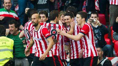 Aduriz scored twice in Athletic Bilbao's 4-0 win over Getafe