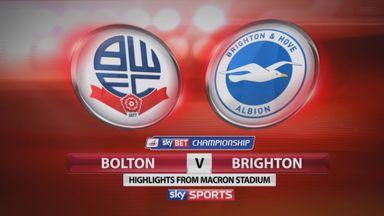 Bolton 1-0 Brighton