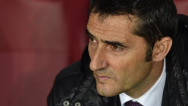 Ernesto Valverde: Pleased to be in final
