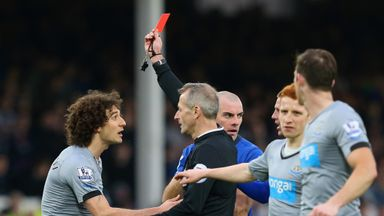 Fabricio Coloccini: Appeal over Goodison red is rejected