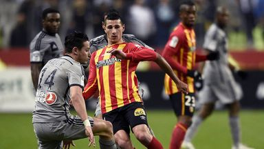 Florian Thauvin in action for Lens