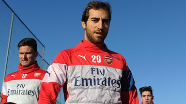 Mathieu Flamini: Last started an Arsenal game in mid-February