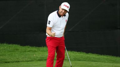 Andy Sullivan: Five birdies in eight holes on his way to another Joburg victory