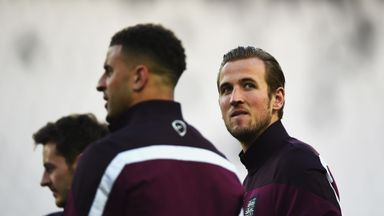 Harry Kane: In Turin ahead of making his full debut